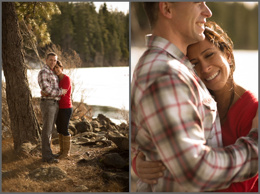 Engagement Photos at the Lodge at Suttle Lake