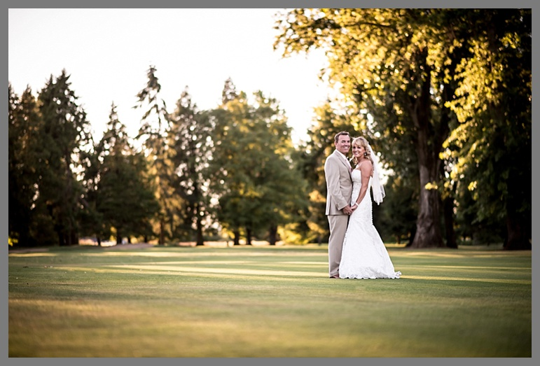 Terri & Jim's wedding at Shadow Hills Golf Course, Oregon